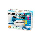 Vallesol Multivitaminas Complet +Oligoelementos Efervescente 24 Comprimidos