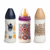 Suavinex Wide Neck Bottle With Food Teat 360ml