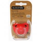 Suavinex  Evolution Anatomical Silicone Teat Soother +6m