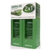 Sesderma Hidraloe Aloe Gel Face And Body 2x250ml