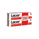 Lacer Toothpaste Antiplaque Anticaries 2x125ml