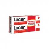 Lacer Toothpaste Antiplaque Anticaries 2x125ml
