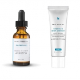 Skinceuticals Phloretin CF Serum 30ml + Glycolic 10 Renew Overnight 50ml