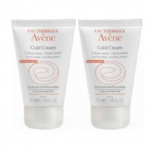Avene Pack Cold Cream Hand Cream 2x50ml
