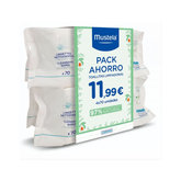 Mustela Wipes Pack Savings 4x70