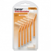 Lacer Interdental Brush Lacer Orange Extrathin Soft 0.5 mm