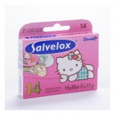 Salvelox Hello Kitty Children's 14 plasters