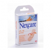 3M Nexcare Active Extra Cushion And Long Lasting 10 Units