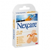 3M Nexcare Active Adhesive Dressing Assorted 20 Units