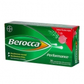 Berocca Performance 30 Effervescent Tablets Red Fruit