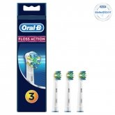 Oral-B Electric Toothbrush Head Floss Action 3 Units
