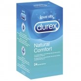 Durex Natural Plus Rubber Latex 24 Condoms
