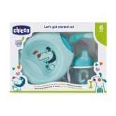 Chicco Let's Get Started 6m+ Blue Set 3 Pieces 2019