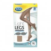 Scholl Compression Tights 20 Den Size Xl Skin Color