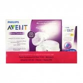 Avent Comfort Single Electric Breast Pump Scf332/01 + Feeding Bottle 125ml