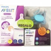 Avent Natural Baby Bottle 0m+ 125ml + 0-6 m Ultra Soft